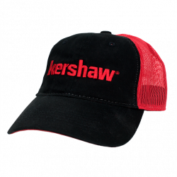 Бейсболка Kershaw Red/Black Mesh Trucker Cap KCAPKER181